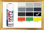 Happy Color Akril spray RAL9005 Fényes Fekete, 400ml