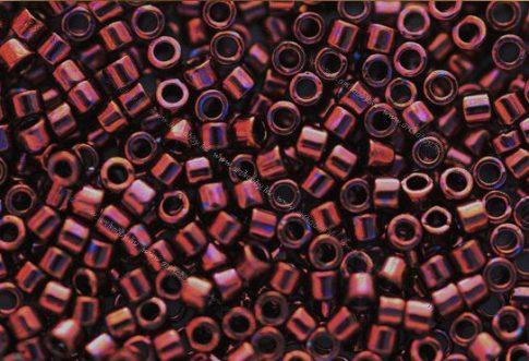 Delica gyöngy 11/0, DB0012, metál málna, 4g