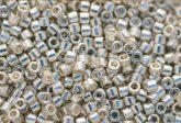 Delica gyöngy 11/0, DB0035, galvanizált ezüst, 4g