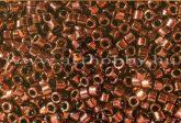 Delica gyöngy 11/0, DB0040, réz bevonatú fényes, 4g