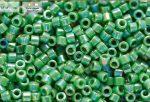Delica gyöngy 11/0, DB0163, telt zöld AB, 4g