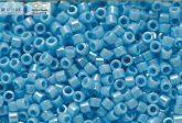 Delica gyöngy 11/0, DB0164, telt világos kék AB, 4g