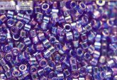 Delica gyöngy 11/0, DB0178, átlátszó zafírkék AB, 4g
