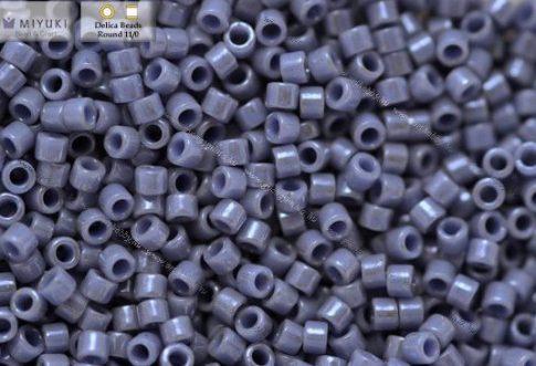 Delica gyöngy 11/0, DB0266, lüszteres vil.farmerkék, 4g