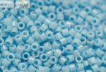 Delica gyöngy 11/0, DB0725, telt világos kék, 4g