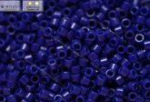 Delica gyöngy 11/0, DB0726, telt sötét kék, 4g