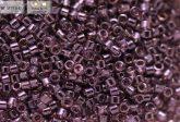 Delica gyöngy 11/0, DB1225, átlátszó fényes világos ametiszt, 4g