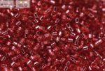 Delica gyöngy 11/0, DB1341, ezüstközepű közép rózsa, 4g