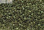 Delica gyöngy 11/0, DB1566, telt, lüszteres avokádó, 4g