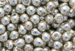 Drop gyöngy, galv. ezüst, 5g
