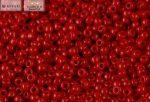 Japán kása 11/0, telt sötét piros, 10g