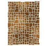 Stencil D méret 20x15cm - Wall Effect KSD282