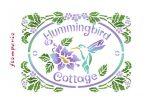 Stencil D méret 20x15cm - Hummingbird Cottage KSD293