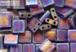 Miyuki TILA gyöngy, matt átlátszó kobalt kék AB, 30 db