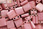 Miyuki TILA gyöngy, telt lüszteres antik rózsaszín, 30 db