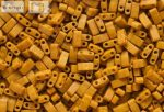 Miyuki Fél Tila, matt telt mustár sárga, 60 db