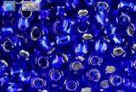 Japán kása 6/0, ek. kobaltkék, 10g
