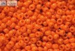 Japán kása 11/0, telt narancs, 10g