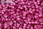 Japán kása 11/0, pink közepű világos ametiszt, 10g