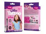 Tytoo Mini Lányos Csillám szett lányos mintákkal