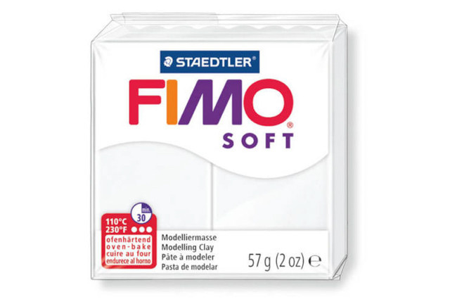 Fimo soft gyurma, 57g, indiánpiros 24