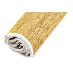 Krepp papír (0,5x2m) arany 32
