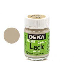 Deka Color Lack, fényes akrilfesték, 25ml, bézs