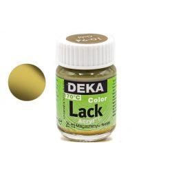 Deka Color Lack, fényes akrilfesték, 25ml, arany