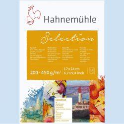Hahnemühle akvarell válogatás 24x32cm 12lap, 200-600g/m2