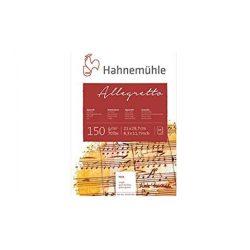 Hahnemühle Allegretto akvarell tömb A4 10lap, 150g/m2 durva szemcsés, savmentes