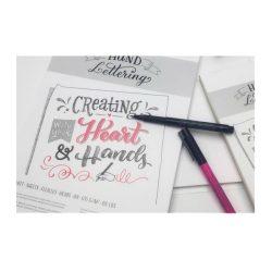 Hahnemühle Hand Lettering kalligráf tömb A4 80 lap, 170g/m2 savmentes