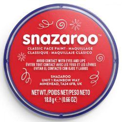 Snazaroo arcfesték, 18ml, piros