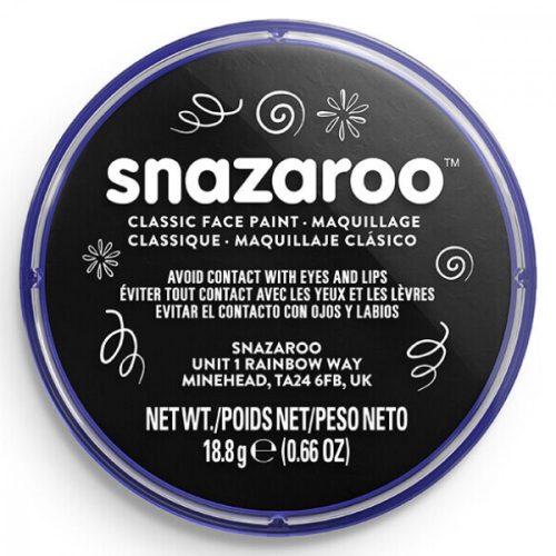 Snazaroo arcfesték, 18ml, fekete
