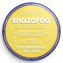 Snazaroo arcfesték, 18ml, vil.sárga