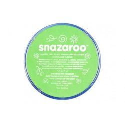 Snazaroo arcfesték, 18ml, lime green