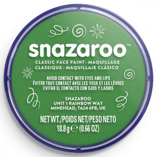 Snazaroo arcfesték, 18ml, fűzöld