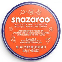 Snazaroo arcfesték, 18ml, narancssárga