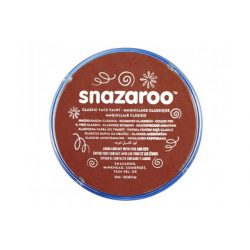 Snazaroo arcfesték, 18ml, rust brown