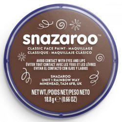Snazaroo arcfesték, 18ml, vil.barna