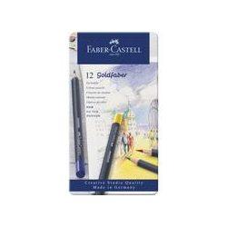 Faber-Castell Goldfaber színes ceruza 12db fémdobozban