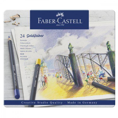 Faber-Castell Goldfaber színes ceruza 24db fémdobozban
