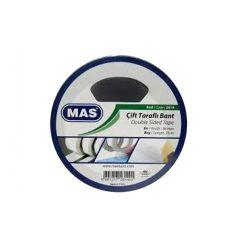 Ragasztószalag MAS kétoldalas 12mm/25m 2610