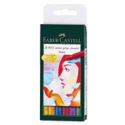 Faber-Castell Pitt művész filc B 6db alapszínek