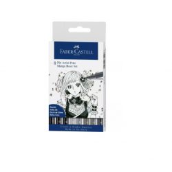 Faber-Castell Pitt művész filctoll MANGA BASIC 8db-os