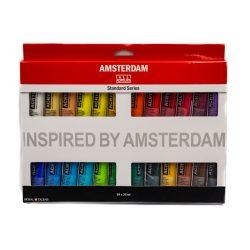 Talens Amsterdam akrilfesték készlet 24*20ml