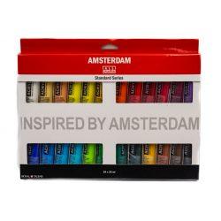 Talens Amsterdam akrilfesték készlet 24x20ml