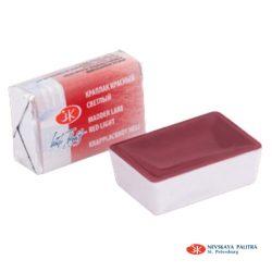 """St. Petersburg """"White Nights"""" akvarelfesték (fél-száraz) madder tó vörös 1/1 szilke  2,5ml"""