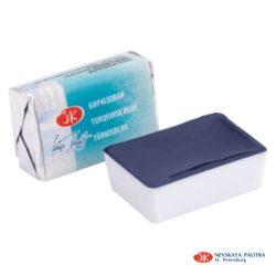 """St. Petersburg """"White Nights"""" akvarelfesték (fél-száraz) türkiz 1/1 szilke  2,5ml"""