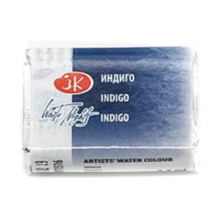 """St. Petersburg """"White Nights"""" akvarelfesték (fél-száraz) indigó 1/1 szilke  2,5ml"""