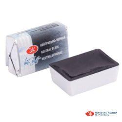 """St. Petersburg """"White Nights"""" akvarelfesték (fél-száraz) természetes fekete 1/1 szilke  2,5ml"""